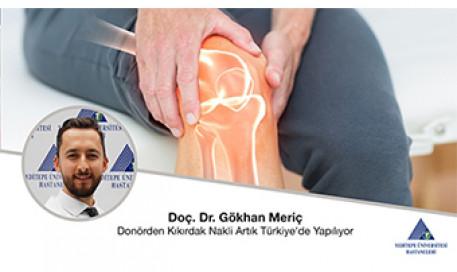 Donörden Kıkırdak Nakli Artık Türkiye\'de Yapılıyor  |  Doç. Dr. Gökhan Meriç