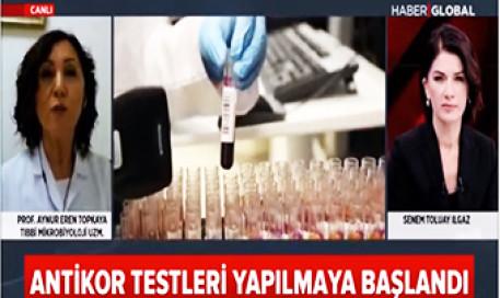 Antikor Testi | Prof. Dr. Aynur Eren Topkaya