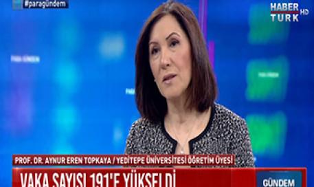 Koronavirüs (Corona virüs) COVID-19 Türkiye' de Hızlı Yayılma Döneminde mi? | Prof. Aynur Eren Topkaya