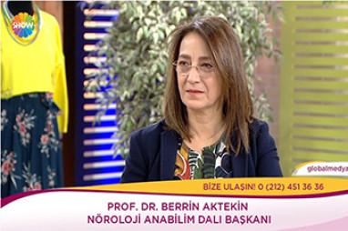 Epilepsi ve Cerrahi Tedavisi |  Prof. Dr. Berrin Aktekin