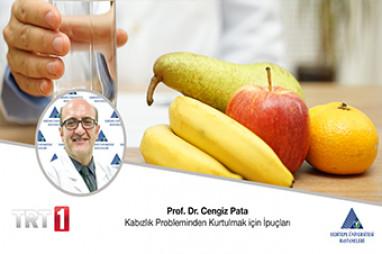 Kabızlık Probleminden Kurtulmak için İpuçları   Prof. Dr. Cengiz Pata