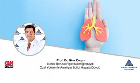 Nefes Borusu Pipet Kalınlığındaydı Özel Yöntemle Ameliyat Edildi | Prof. Dr. Sina Ercan