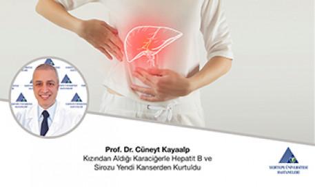 Kızından Aldığı Karaciğer ile Hem Hepatit B ve Sirozu Yendi, Kanserden Kurtuldu | Prof. Dr. Cüneyt Kayaalp
