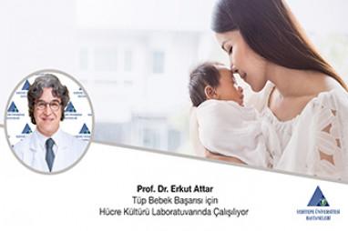 Tüp Bebek Başarısı için Hücre Kültürü Laboratuvarında Çalışılıyor  | Prof. Dr. Erkut Attar