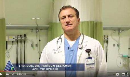 Yanıklarda İlk Yardım | Dr. Öğr. Üyesi Ferudun Çelikmen