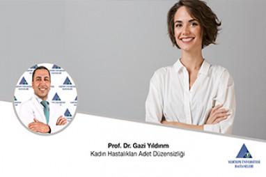 Kadın Hastalıkları Adet Düzensizliği | Doç. Dr. Gazi Yıldırım