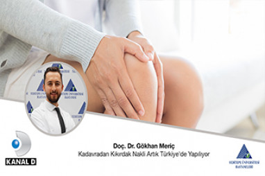 Kadavradan Kıkırdak Nakli Artık Türkiye' de Yapılıyor | Doç. Dr. Gökhan Meriç