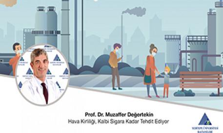 Hava Kirliliği, Kalbi Sigara Kadar Tehdit Ediyor | Prof. Dr. Muzaffer Değertekin