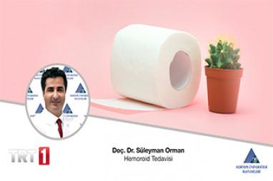 Hemoroid Tedavisi   Doç. Dr. Süleyman Orman