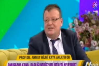 Omurga Hastalıkları - Prof. Dr. Ahmet Hilmi Kaya