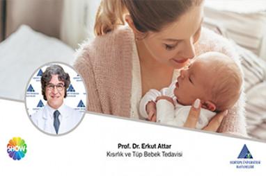 Kısırlık ve Tüp Bebek Tedavisi |  Prof. Dr. Erkut Attar