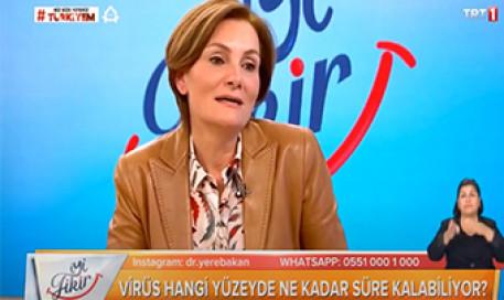 Koronavirüs Yüzeylerde Ne Kadar Süre Kalıyor | Prof. Dr. Pınar Çıragil
