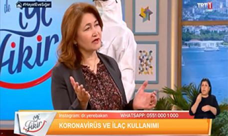 Corona Koronavirüs COVID 19 ve İlaç Kullanımı | Prof. Dr. Meral Sönmezoğlu