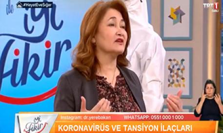 Koronavirüs COVID-19 (Corona) ve Tansiyon İlaçları | Prof. Dr. Meral Sönmezoğlu