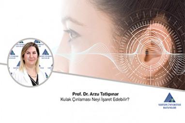 Kulak Çınlaması Neyi İşaret Edebilir? -  Prof. Dr. Arzu Tatlıpınar