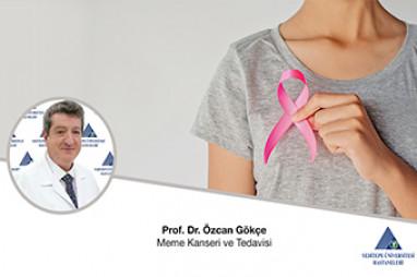 Meme Kanseri ve Tedavisi    Prof. Dr. Özcan Gökçe