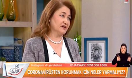 Koronavirüs COVID-19 (Corona) için Alınacak Önlemler | Prof. Dr. Meral Sönmezoğlu