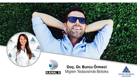 Migren Tedavisinde Botoks | Prof. Dr. Burcu Örmeci