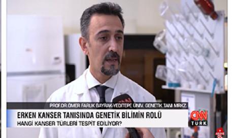 Kansere Yatkınlığınız Test Edilebiliyor | Prof. Dr. Ömer Faruk Bayrak ve Doç. Dr. Ayşegül Kuşkucu
