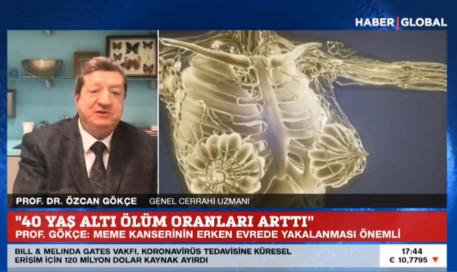40 Yaş Altındaki Meme Kanseri Vakalarında Yaşam Kaybı Oranı Arttı | Prof. Dr. Özcan Gökçe