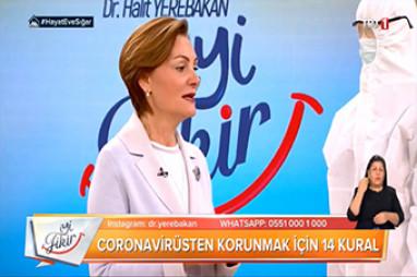 Koronavirüsten (Corona) COVID-19 Korunmak için 14 Kural | Prof. Dr. Pınar Çıragil