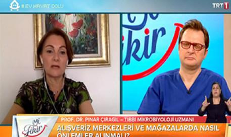 Alışveriş Merkezlerinde Alınması Gereken Önlemler | Prof. Dr. Pınar Çıragil