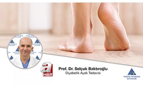 Diyabetik Ayak Tedavisi  | Prof. Dr. Selçuk Baktıroğlu
