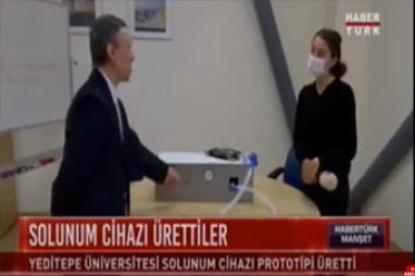 Yeditepe Solunum Cihazı Üretti | Prof. Dr. Özge Köner & Prof. Dr. Sibel Temür
