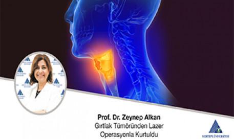 Gırtlak Tümöründen Lazer Operasyonla Kurtuldu | Prof. Dr. Zeynep Alkan