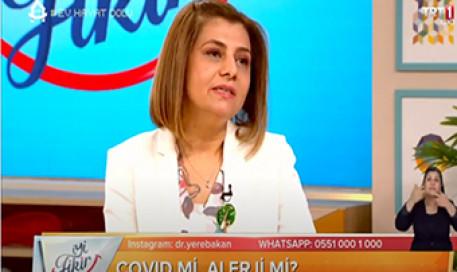 Alerji Belirtileri ile Koronavirüsü Karıştırmayalım | Prof. Dr. Zeynep Alkan