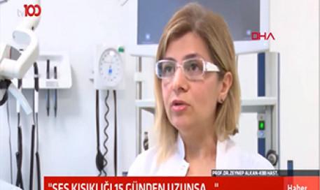 15 Günden Uzun Süren Ses Kısıklığına Dikkat | Prof. Dr. Zeynep Alkan