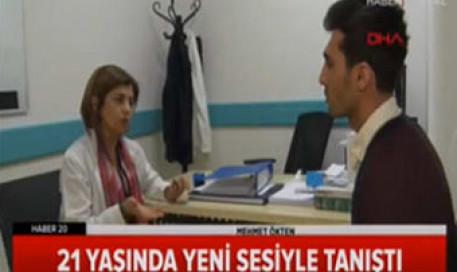 Ses Estetiği ile Erkek Sesine Kavuştu - Prof. Dr. Zeynep Alkan